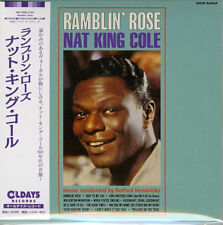 NAT KING COLE-RAMBLIN' ROSE-JAPAN MINI LP CD BONUS TRACK C94