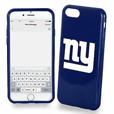 For Apple iPhone 7 New York Giants TPU Soft Gel Protective Case NFL