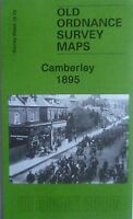 Old Ordnance Survey Detailed Maps  Camberley  Surrey 1895 Godfrey Edition New