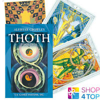 ALEISTER CROWLEY THOTH TAROT POCKET SWISS DECK CARDS US GAMES SYSTEMS NEW