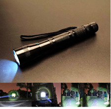 1000LM XPE-R3 LED Flashlight Lamp Clip Penlight Outdoor Light Bright Torch AA