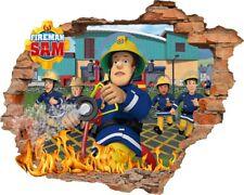 Feuerwehrmann Sam Wandtattoo  Fireman Sam wall stickers Wandaufkleber 57X73cm