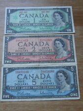 Lot of 3 World Paper Money #1430
