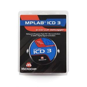 NEW Microchip MPLAB ICD3 in-circuit Debugger Programmer DV164035