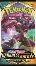 Darkness Ablaze Sword & Shield Booster Pack Pokemon English PreOrder   1 pack