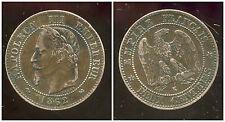 2  centimes  NAPOLEON III 1862  K   TTB  ( bis )