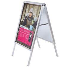 Kundenstopper- für Innen-und Außeneinsatz geeignet-komplett aus Aluminium