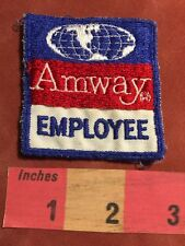 Vintage AMWAY EMPLOYEE Patch - Advertising / Uniform Type Patch 87WV