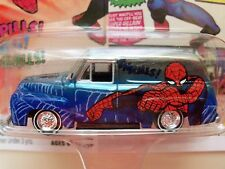 JOHNNY LIGHTNING - MARVEL / THE AMAZING SPIDER-MAN - FORD F-100 PANEL DELIVERY