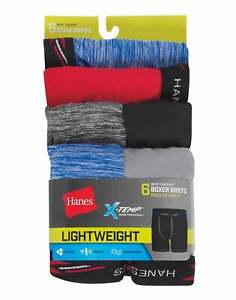 Boys' X-Temp Lightweight Boxer Briefs 6-Pack