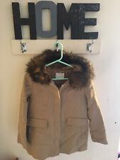 zara girls coat 11-12