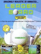 Leader Board (EE. UU. oro 1986) Tabla de posiciones-ZX Spectrum - (#266)
