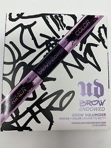 Urban Decay Brow Endowed Volumizer Sample Brunette Betty Brown Primer / Color