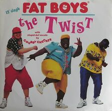 "Fat Boys & Chubby Checker - The Twist (12"" Polydor Maxi-Single Germany 1987)"