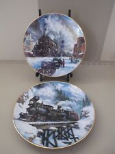 2-1992 HAMILTON MINT COLLECTOR PLATES BY TED XARAS