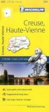 CREUSE HAUTE-VIENNE, France Local Map 325 - NEW 2017 - MICHELIN 325