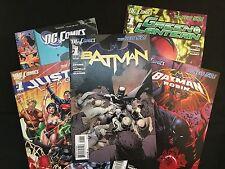 DC Comics The New 52 #1 Issue - 5 Book Set - Batman / Justice League + More