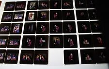 TWIGGY VINTAGE  LOT OF 35MM SLIDE TRANSPARENCY PHOTO