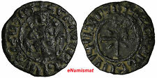 ARMENIA CILICIA HETUM I (1226-1270)AE TANK KING THRONE/CROSS STAR Nercessian 354