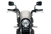 PUIG ALUMINIUM FRONTAL PLATE INDIAN SCOUT BOBBER 18-19 SILVER