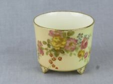 ANTIQUE ROYAL WORCESTER BLUSH IVORY MINIATURE PLANTER - STYLE 459 - CIRCA 1895