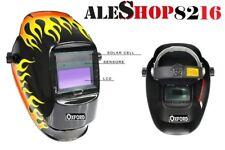 Maschera per saldatura automatica auto oscurante casco protettivo a cristalli
