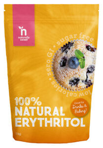 Naturally Sweet Erythritol 1000g Pouch