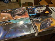 Lot 13 - 4 Star Trek Voyager Kits  - Monogram - Revell