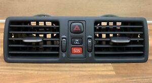 Volvo XC90 2007-2013 Dashboard Dash Centre Air Vents On Call SOS (Black) 3409400