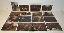 ++ jeu de 16 photos d'exploitations du film les misérables / publimod'photo ++