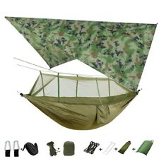 Camping Hammock With Mosquito Net / Under Quilt Blanket/ Rain fly Cover Tarp
