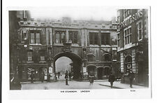 The Stonebow, Lincoln RP PPC, Unposted, Edwardian era, Shows Higgs Hairdressers