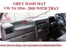 DASH MAT, DASHMAT, DASHBOARD COVER FIT VOLKSWAGON TRANSPORTER T4 1994-2003,GREY