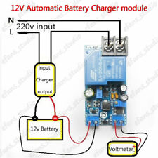 12V 30A Automatic Battery Charging Protection Board Auto Charger Relay Module L