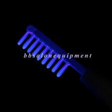 Tube en verre de haute fréquence cheveux de plus en plus soin peigne électrode