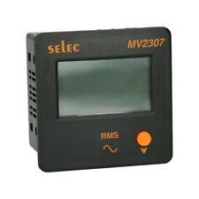 Voltmeter Selec MV2307-230V-CE digital LCD Balkenanzeige 3-phasig 50...480 V RMS