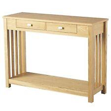 Wood Veneer Hallway Modern Console Tables