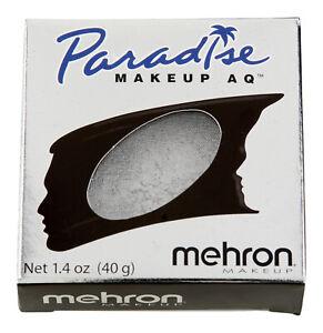 Mehron Paradise Makeup AQ Professional Size Brillant Series 1.4oz Argente/Silver