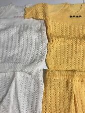 Very Nice Vintage Clothing Lot Of 3 Outfits For Baby. (8025)