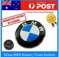 1X BMW REPLACEMENT 82MM BOOT BONNET BADGE EMBLEM E38 E39 E46 E60 E90 X5