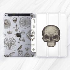 Horror Occult Skull Alchemy Case For iPad 10.2 Air 3 Pro 9.7 10.5 12.9 Mini 5