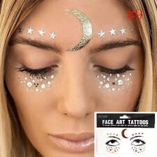 130ef6e99 Bohemian Face Eyes Art Jewels Festival/Party/Rave Tattoo Transfers style # 9
