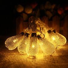 New Waterdrop String LED Lights Diwali Christmas Wedding Garden Party Decoration