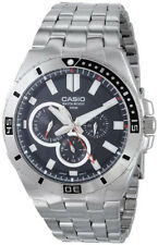 Casio Men's Chronograph Stainless Steel Dive Watch MTD-1060D-1AVDF