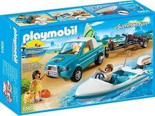 Playmobil Summer Fun 6864. Pick Up Avec bateau. moteur sous l'eau. De 4-10 ans