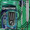 Winmau Sabotage Dart Set Tungsten Steel Tip Darts 20g 22g 24 26 Razor Shark Grip