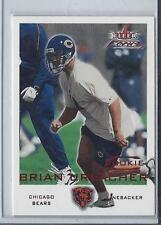 BRIAN URLACHER 2000 FLEER FOCUS BEARS TRUE RC #D 180/3999