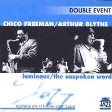 Freeman, Chico/Arthur Blythe-Luminous/The Unspoken Word 2cd NUOVO