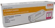 OKI GENUINE/ORIGINAL 42804542 MAGENTA Printer Toner Cartridge C3200/C3200N *NEW*
