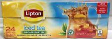 Lipton Decaffeinated Iced Tea Blended Tea Bags 24 ct 5.25 oz